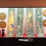 【ギャラリー展示】<br>岡田嘉則 金屏風と掛軸展<br>「身近にある日本的なものを受け継いで」開催